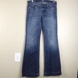 7 For All Mankind Dojo Crisscross Size 29